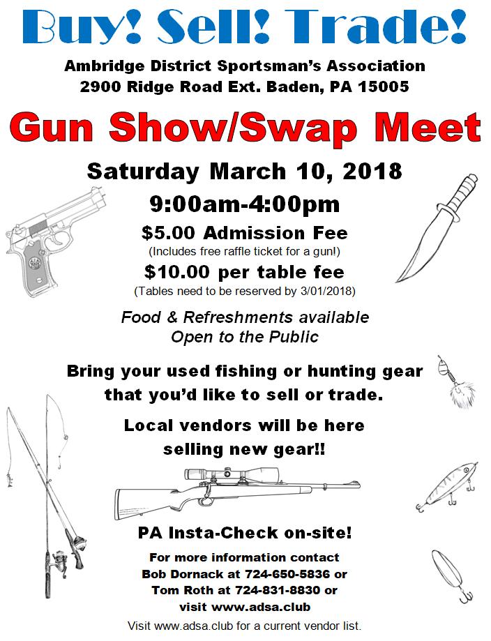 Gun Show Swap Meet 2018-03-10