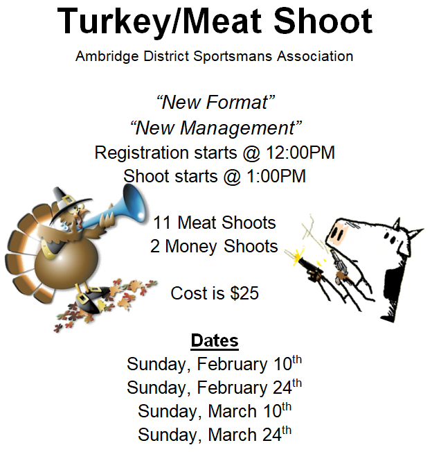 Turkey/Meat Shoot